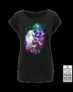 LOVE A 'Einhorn' Girlie- T-Shirt