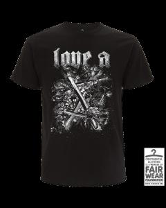 LOVE A '10 Jahre' T-Shirt