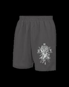 LOVE A 'WSDT' Mesh Shorts Grau